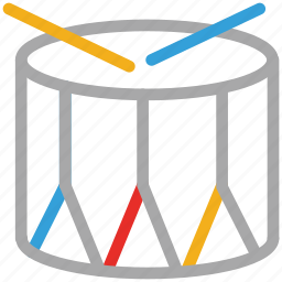 base drum, drum, music, music instrument icon