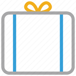 birthday, gift, gift box, present icon
