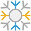 christmas, decorations, snow, snowflake icon
