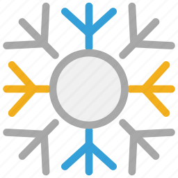 christmas, decorations, snow, snowflake icon