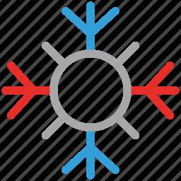 christmas, snow, snowflake, winter icon