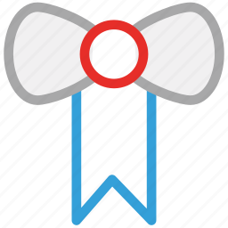 bow, decoration, present, ribbon icon