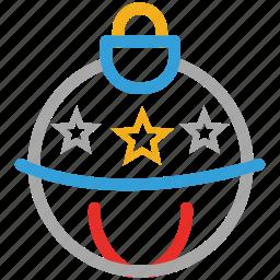 bauble, christmas, decoration, xmas icon