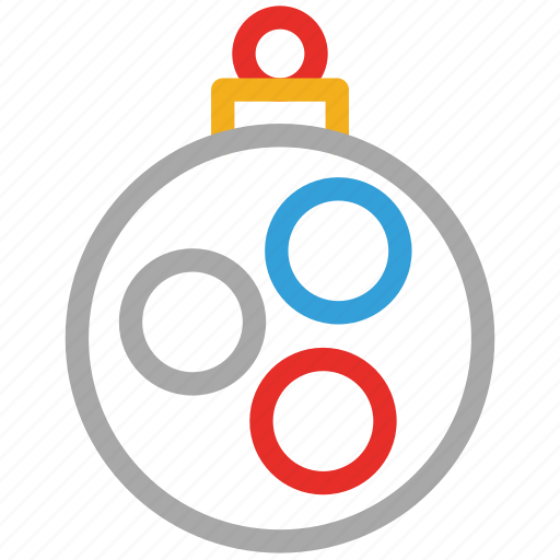 bauble, christmas, decorations, xmas icon
