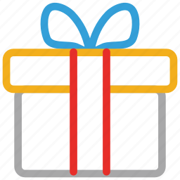 christmas, gift, gift box, present icon