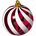 christmas, ball, decoration, bauble