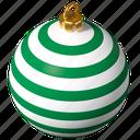 christmas, bulb, tree, ornament
