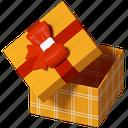 gift, box, present, holiday icon