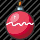 ball, bauble, christmas, decoration, ornament, xmas icon