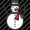 christmas, cold, snow, snowman, winter, xmas icon