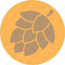 cone, environment, garden, nature, pine, plant, tree icon