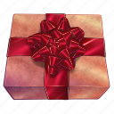 birthday, box, christmas, gift, new year, present, xmas icon