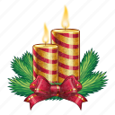 candle, candles, celebration, christmas, holiday, new year, xmas icon