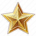 celebration, christmas, golden, holiday, new year, star, winter, xmas icon