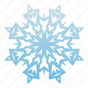 cold, new year, snow, snowflake, weather, winter, xmas icon