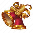 bells, carol, celebration, christmas, december, holiday, jingle, new year, winter, xmas icon