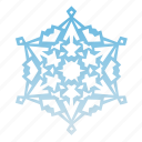 christmas, cold, frost, holidays, new year, snow, snowflake, vacation, weather, winter, xmas icon