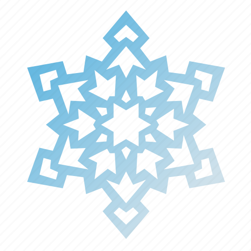 christmas, holidays, new year, snow, snowflake, vacation, winter icon
