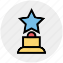 award, cinema, hollywood, nomination, prize, star, trophy icon