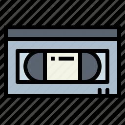 entertainment, recording, tape, vhs icon