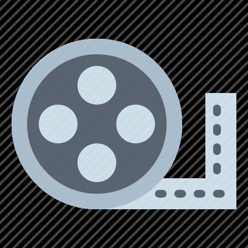 cinema, film, filming, reel icon