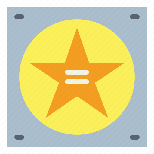 award, fame, hollywood, of, star, walk icon