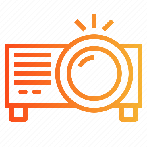 image, projector, technology, video icon