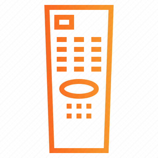 control, electronics, remote, television, wireless icon