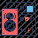 audio system, equipment, music, sound icon