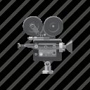 camera, cartoon, media, movie, multimedia, retro, technology icon
