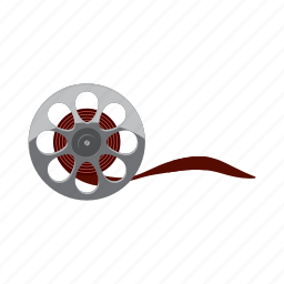 cartoon, cassette, film, media, movie, vhs, videotape icon