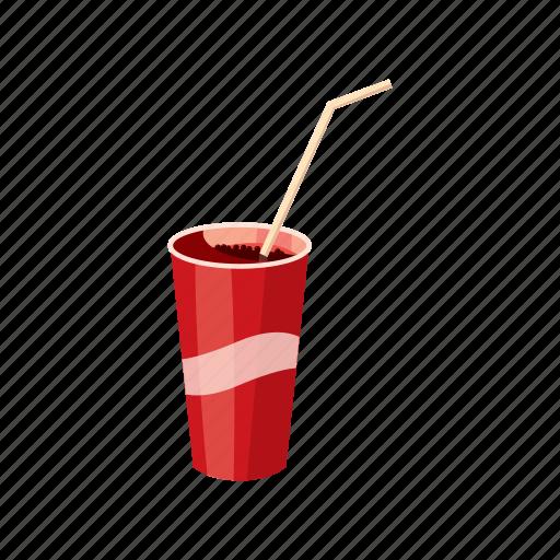 alcohol, bar, cartoon, drink, glass, juice, straw icon