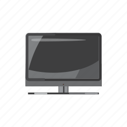 cartoon, display, monitor, screen, technology, television, video icon