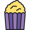 popcorn, cinema, food, entertainment, snack