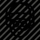 avatar, cinema, director, face, glasses icon