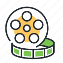cinema, film, movie, roll
