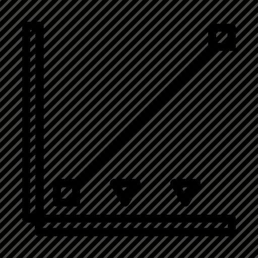 cinema, color, correction, film, graph, movie, production icon