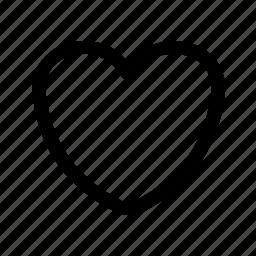 follow, heart, like, love, sympathy icon
