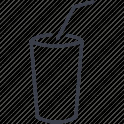 beverage, cinema, drink, glass icon