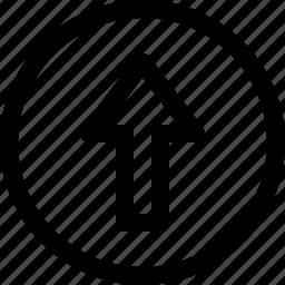 arrow, arrows, circle, download, upload icon