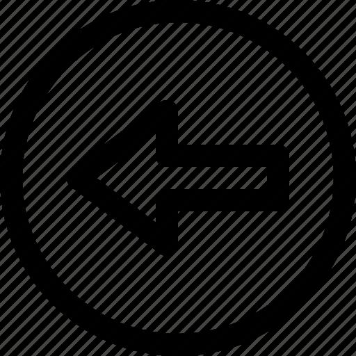 arrow, arrows, circle, direction, left, right icon