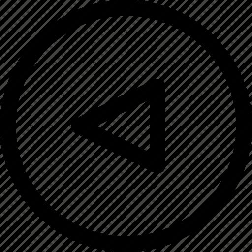 arrow, arrows, circle, left, move, upload icon
