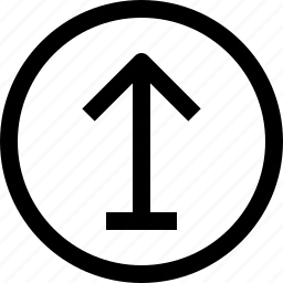 arrow, arrows, circle, navigation, pointer icon