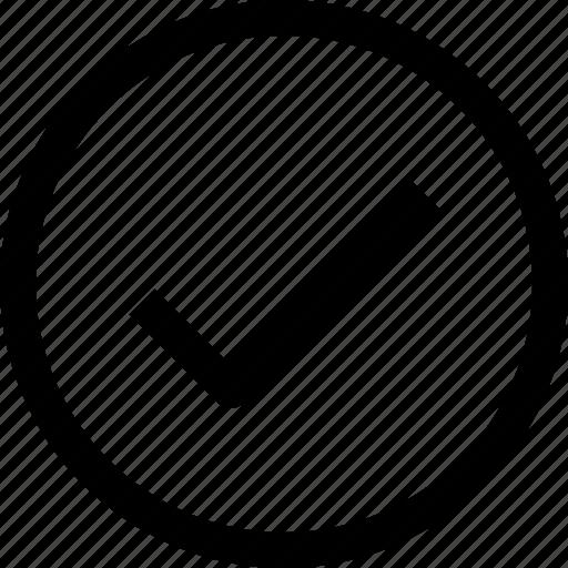 accept, check, circle, national, tick icon
