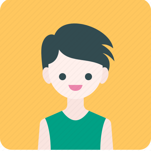 Avatar, boy, human, man, people, profile, smile icon - Download on Iconfinder