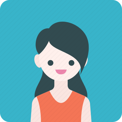 Avatar, girl, profile, shirt, woman icon - Download on Iconfinder