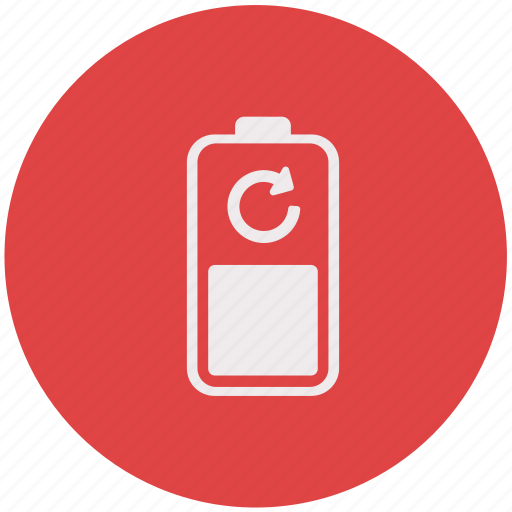 battery, charging, energy, recharge icon