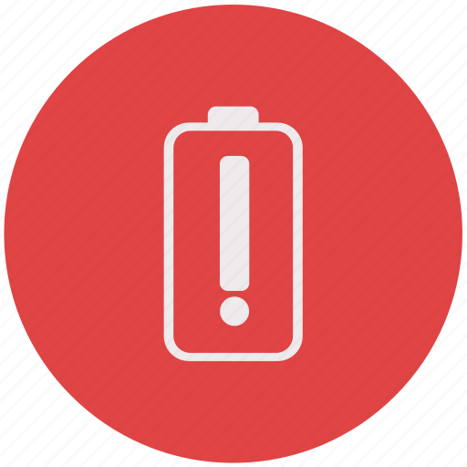 battery, battery caution, battery trouble, caution icon