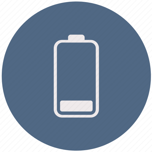 Battery, charge, charging, energy, low battery, power icon - Download on Iconfinder
