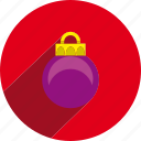 ball, christmas, circle, decoration, holiday, holidays, xmas icon
